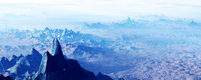 Landscape mountains Royalty Free Stock Image