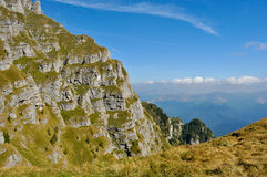 Landscape of Mountains Bucegi Stock Photography