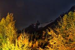 Landscape of mountains Caucasus region in Russia Stock Images