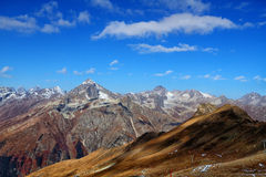 Landscape of mountains Caucasus region in Russia Stock Photography