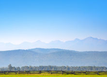 Landscape with mountains Royalty Free Stock Photo