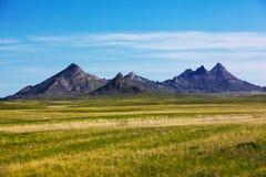 Landscape with mountains, Kazakhstan Royalty Free Stock Photo