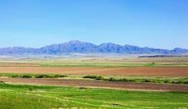 Landscape with mountains, Kazakhstan Stock Image