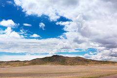Landscape with mountains, Kazakhstan Stock Photography
