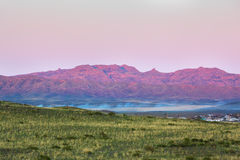 Landscape with mountains, Kazakhstan Royalty Free Stock Images