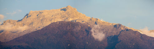 Landscape of the mountains in Merida, Venezuela Royalty Free Stock Photography