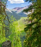 Landscape of mountains Royalty Free Stock Images