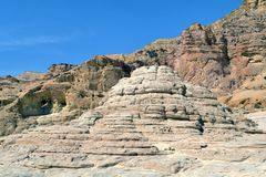 Timna Park of Israel stock photo