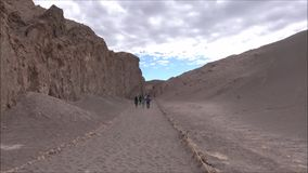 Landscape of mountains,volcano and valley Atacama desert Chile. Landscape of mountains and valley in Atacama desert Chile stock video