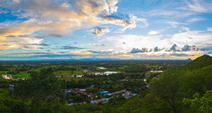 Landscape moutain panorama Royalty Free Stock Photos