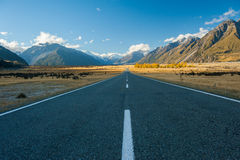 Landscape of mt.cook national park, New Zealand Stock Photography