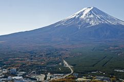 Landscape in Mt.Fuji Royalty Free Stock Image