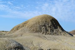 Volcanoes mound Stock Photography