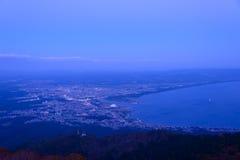 Landscape of Mutsu city Stock Image