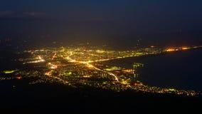 Landscape of Mutsu city Royalty Free Stock Images