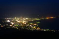 Landscape of Mutsu city Royalty Free Stock Photos