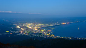 Landscape of Mutsu city Royalty Free Stock Image