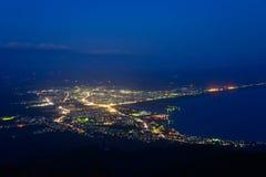 Landscape of Mutsu city Stock Photos