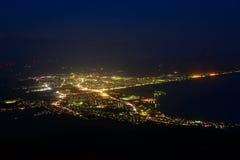 Landscape of Mutsu city Royalty Free Stock Photo