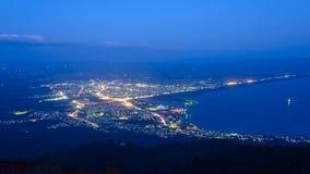 Landscape of Mutsu city Stock Photography
