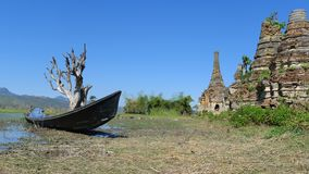 Landscape in Myanmar Royalty Free Stock Image