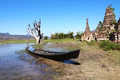 Landscape in Myanmar Royalty Free Stock Photography