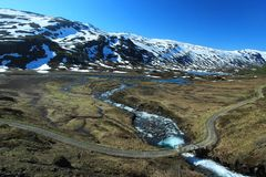 Landscape at Myrdal Royalty Free Stock Photo