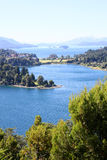 Landscape of Nahuel Huapi lake in argentina Royalty Free Stock Photos