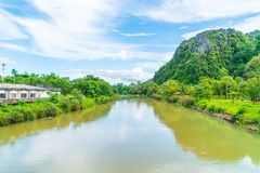 Nam Song River at Vang Vieng, Laos Stock Image
