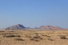Landscape in the Namib Naukluft National Park in Namibia Royalty Free Stock Photos