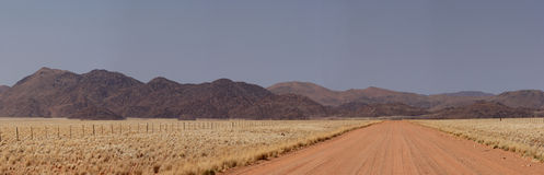 Landscape in Namibia. Panorama of the Tiras Mountains in Namibia stock images