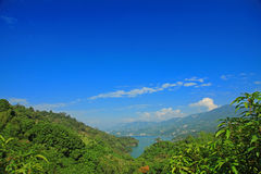Landscape of Nan-Hua Reservoir, Tainan, Taiwan Stock Photography