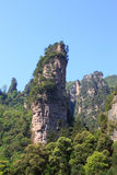 Landscape of national forest park at Zhangjiajie Royalty Free Stock Image