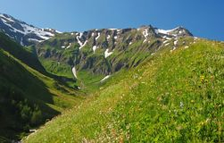 National park Hohe Tauern in Austria. Stock Photo