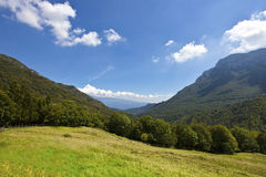 Landscape of Nationalpark Alto Garda Royalty Free Stock Image