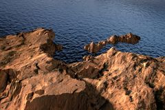 Landscape Natural mountain render Stock Image