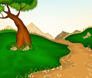 Landscape and nature background Royalty Free Stock Photography