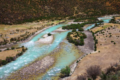 Landscape,Nature,China,Tibet. Niyang river in Tibet China Royalty Free Stock Photos
