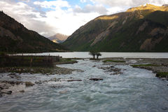 Landscape,Nature,China,Tibet Stock Photography