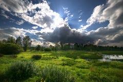 The landscape of nature. The Eastern Siberia - Lake Baikal. Stock Images
