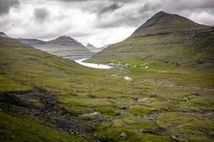 Landscape nature on the Faroe Islands,