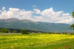 Landscape of nature near Kalofer city, Stara Planina, Bulgaria Stock Photography
