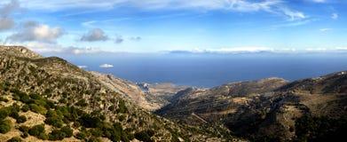 Landscape in Naxos, Greece Stock Photo