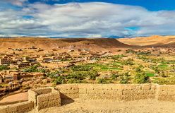 Landscape near Ait Ben Haddou village in Morocco Royalty Free Stock Photography