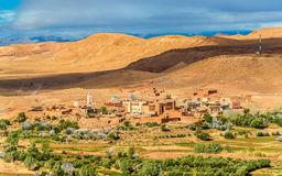 Landscape near Ait Ben Haddou village in Morocco Stock Photo