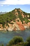 Landscape near Arbatax. Sardinia. Italy.  Stock Images
