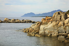 Landscape near Arbatax. Sardinia. Italy Stock Photo