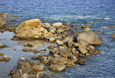 Landscape near Arbatax. Sardinia. Italy Royalty Free Stock Photography