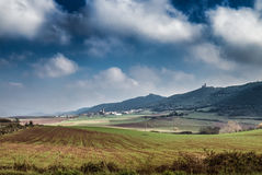 Landscape near Bilbao in the North of Spain in Europe Royalty Free Stock Photos