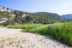 Landscape near Cala Luna, Sardinia, Italy. Beautiful landscape near famous beach Cala Luna, Sardinia, Italy Royalty Free Stock Image